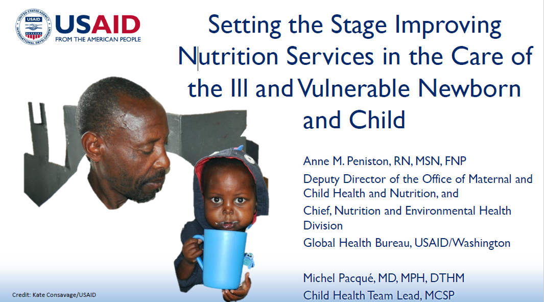 cover photo: Overview of INS Workshop - Anne Peniston (USAID); Michel Pacque (MCSP)