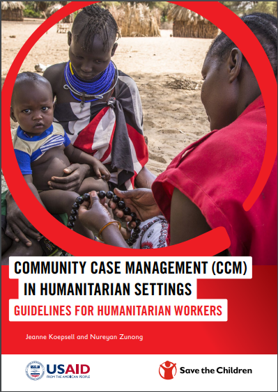 Cover of the CCM in Humanitarian Settings Guidelines