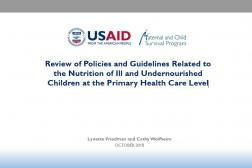 cover photo: Review of Policies and Guidelines INS Workshop Ghana