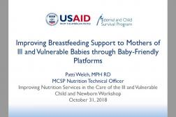 Photo: 06 MCSP_Patti Welch_Support to Mothers_INS Workshop_10.31.18