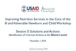 Photo: 10 Advancing Nutrition_Sascha Lamstein_Identification of Common Actions at the District Level_11.1.2018