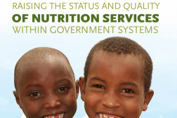 Photo: SPRING_Raising the Status and Quality of Nutrition Services within Government Systems_3.2017