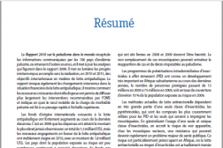 Six-page document in French with some colorful text